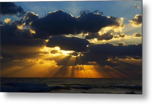 Spiritually Uplifting Sunrise Metal Print