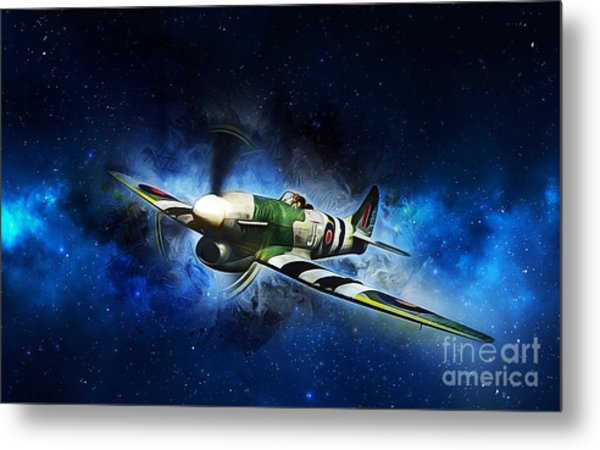 Hawker Typhoon Metal Print