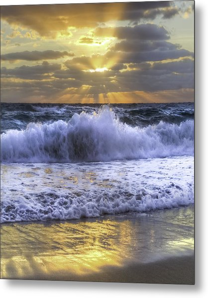 Splash Sunrise IIi Metal Print