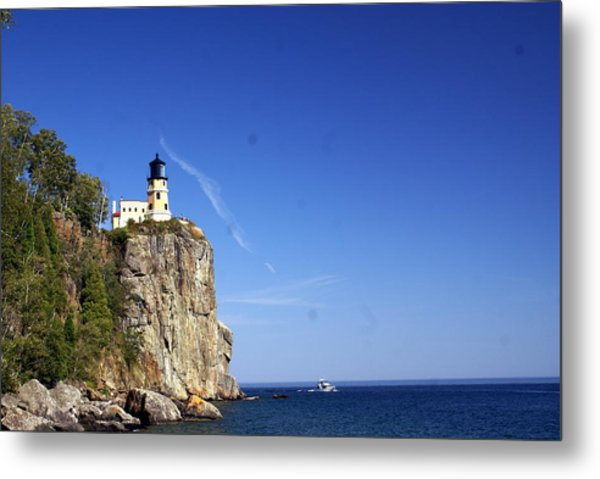 Split Rock 1 Metal Print