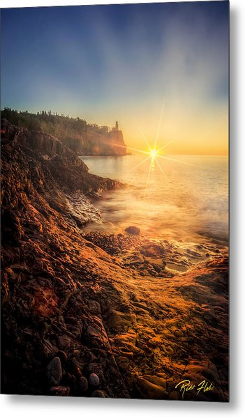 Split Rock Glory Metal Print