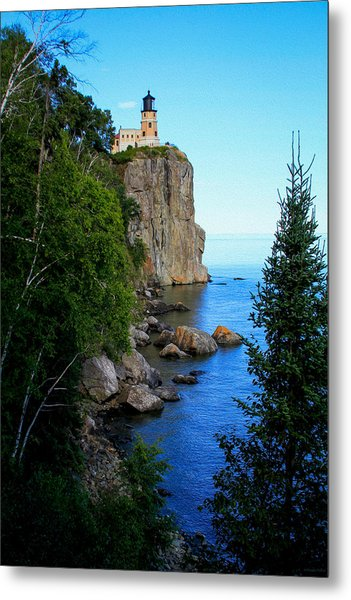 Split Rock Lighthouse Metal Print