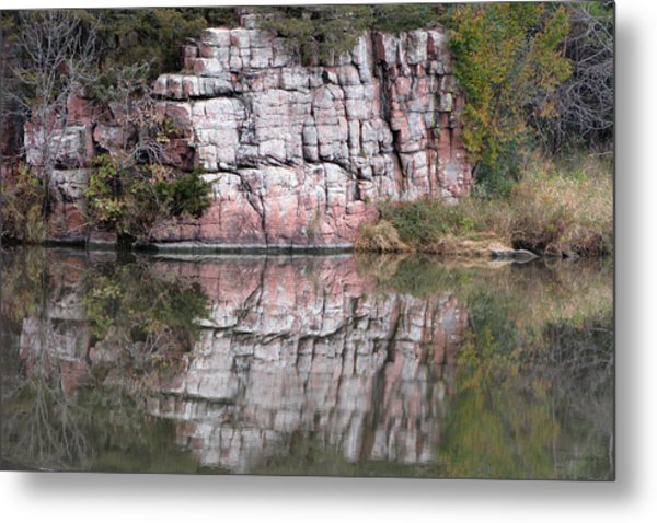 Split Rock State Park Near Garritson South Dakota Metal Print
