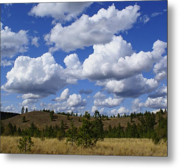 Spokane Cloudscape Metal Print