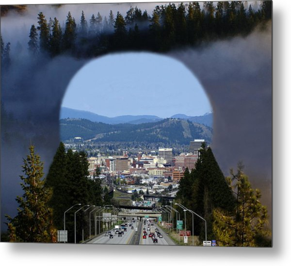 Metal Print featuring the photograph Spokane Near Perfect Nature by Ben Upham III