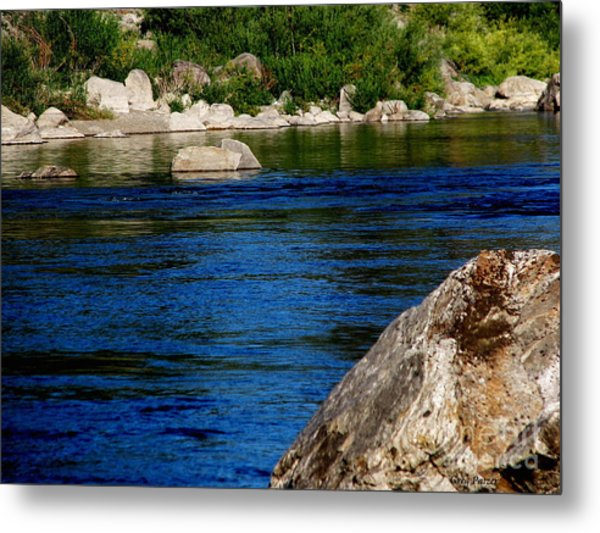 Spokane River Metal Print by Greg Patzer