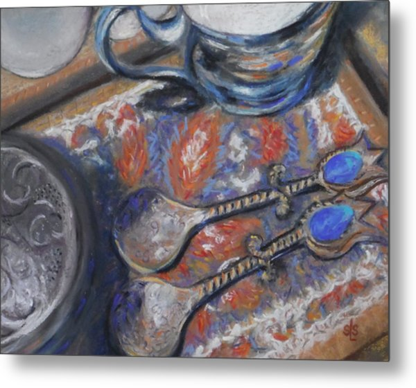 Spoons And More Metal Print