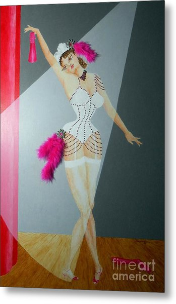 Spotlight On Gypsy -- #5 In Famous Flirts Series Metal Print