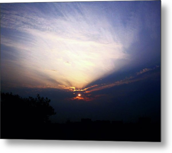 Spotlight Sunrise Metal Print