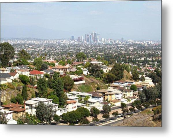 Sprawling Homes To Downtown Los Angeles Metal Print