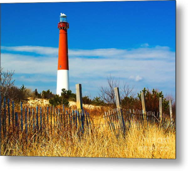 Spring At Barnegat Metal Print
