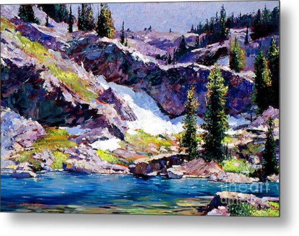 Spring At Jade Lake Metal Print by David Lloyd Glover