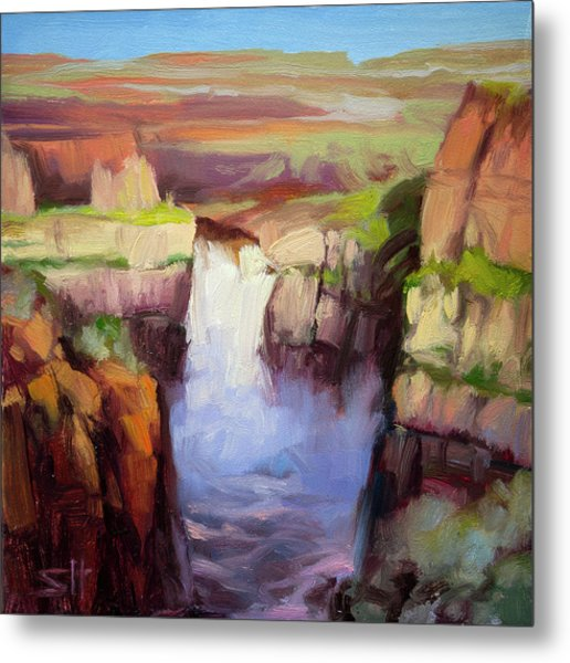 Spring At Palouse Falls Metal Print