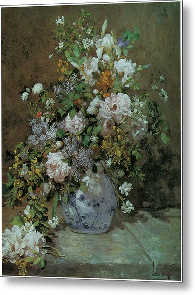 Spring Bouquet Painting by PierreAuguste