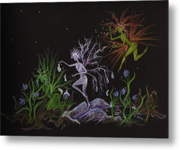 Spring Conflicts Metal Print by Dawn Fairies