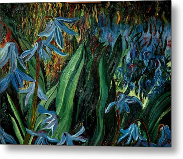 Spring Flower Metal Print by Gregory Allen Page