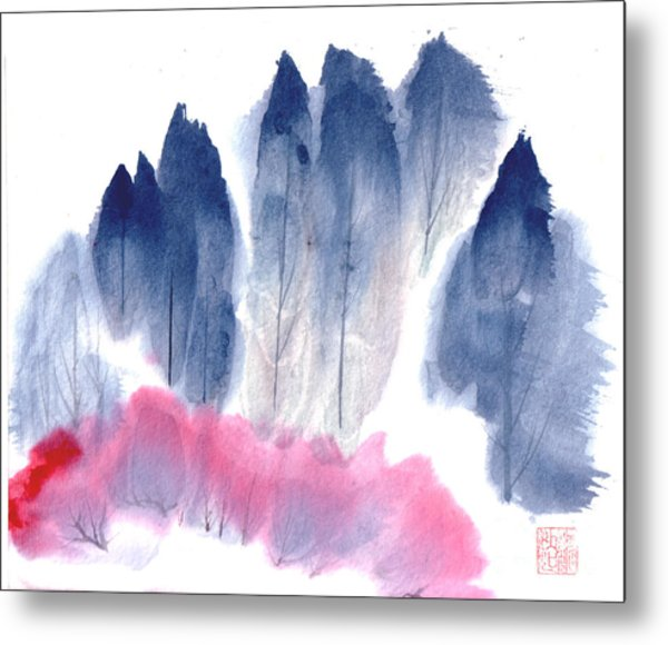 Spring Forest Metal Print by Mui-Joo Wee