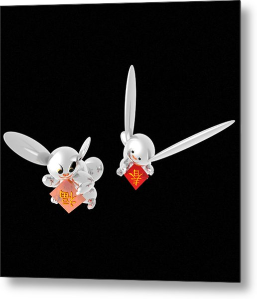 Spring Has Come Happiness Has Come 05 Metal Print by Taketo Takahashi