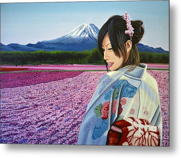 Spring In Japan Metal Print