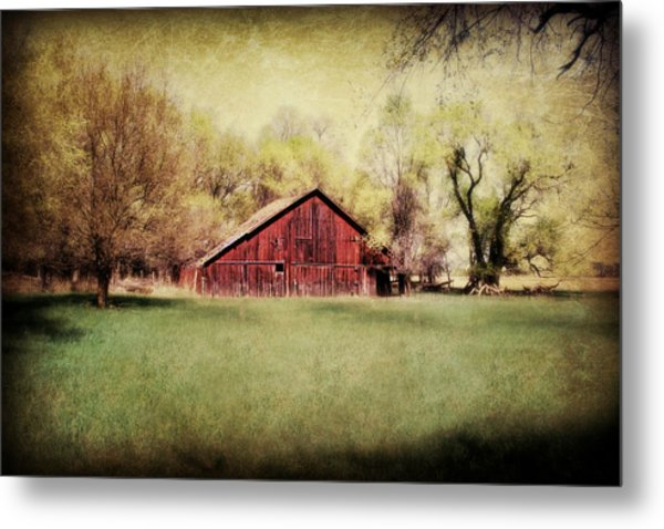 Spring In Nebraska Metal Print
