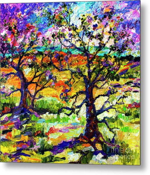 Spring In Provence Metal Print