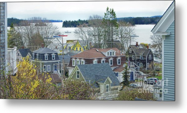 Spring In Maine, Stonington Metal Print