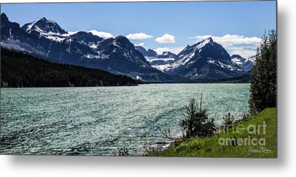 Many Glacier Metal Print