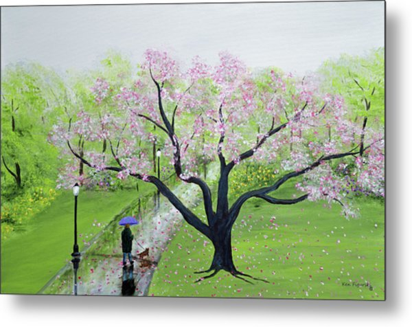 Spring In The Park Metal Print