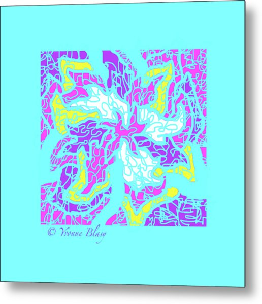 Spring Is Pastelling Metal Print