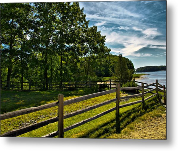 Spring Landscape In Nh 2 Metal Print by Edward Myers