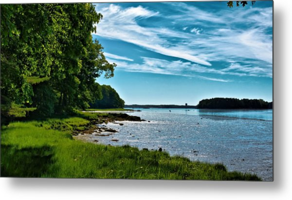 Spring Landscape In Nh 5 Metal Print by Edward Myers