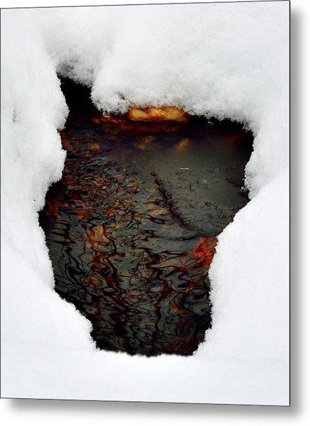 Spring Snow II Metal Print