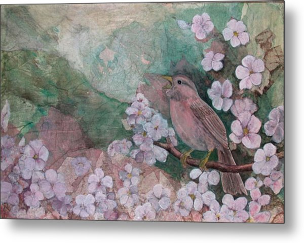 Spring Song Metal Print by Sandy Clift
