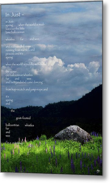 Spring Symphony With Cummings Metal Print by Wayne King