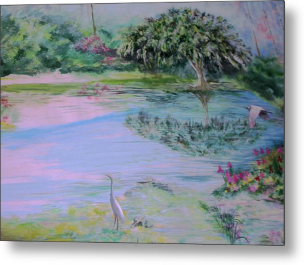 Spring Time Colors Metal Print