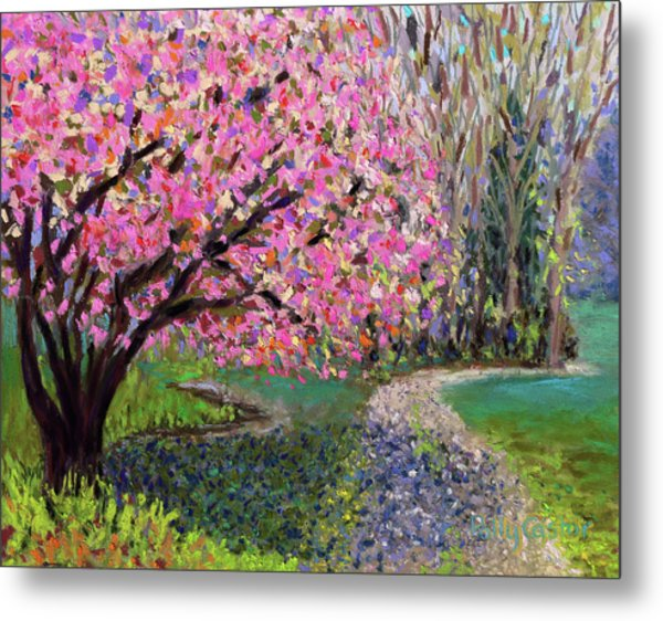 Spring Tree At New Pond Farm Metal Print