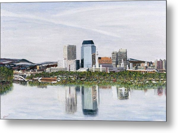 Springfield Reflections Metal Print by Richard Nowak
