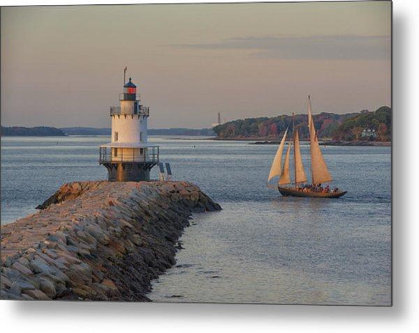 Sprint Point Ledge Sails Metal Print
