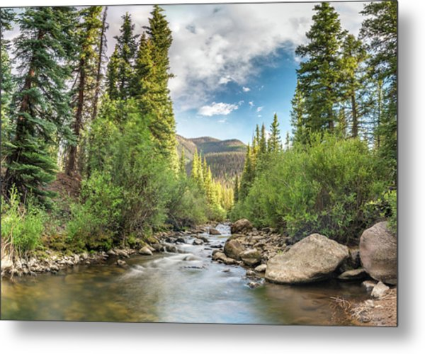 Squaw Creek, Colorado Metal Print