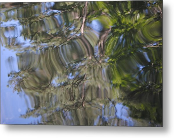Squiggles Metal Print by Mona McClave Dunson