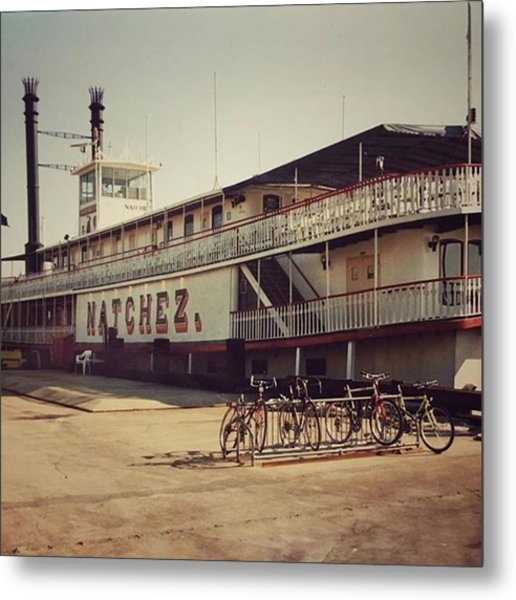 Ss Natchez, New Orleans, October 1993 Metal Print