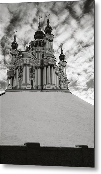 St. Andrew Church. Kyiv, 2014. Metal Print