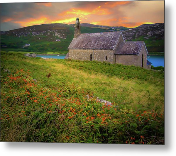 St. Brendan The Navigator Church Of Ireland In Crookhaven Metal Print