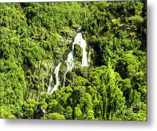 St Columba Falls Tasmania Metal Print