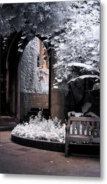 Metal Print featuring the photograph St Dunstan's In The East by Helga Novelli