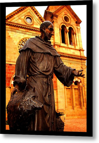Cathedral Basilica Of St. Francis Of Assisi Metal Print