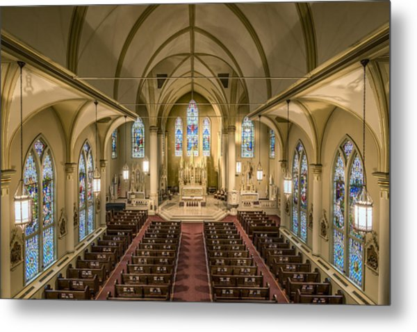 St. Francis Xavier Cathedral Metal Print