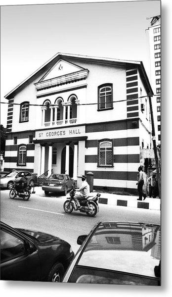 St. Georges Hall, Broad Street Metal Print
