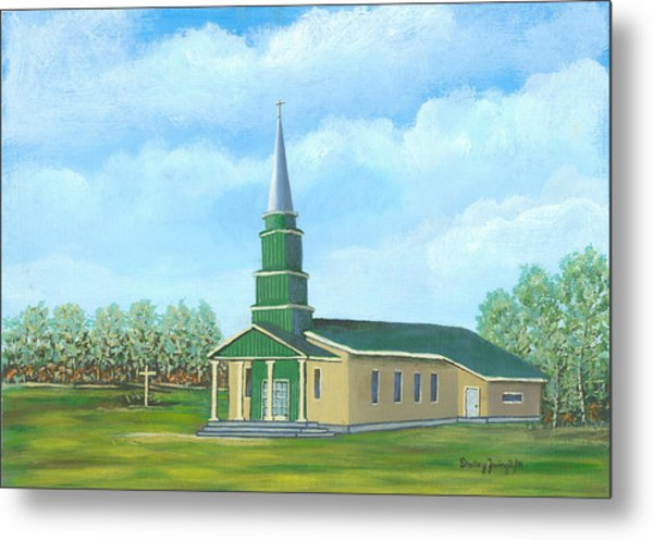St. Helens - Sacred Ground Metal Print by Shelley Zwingli