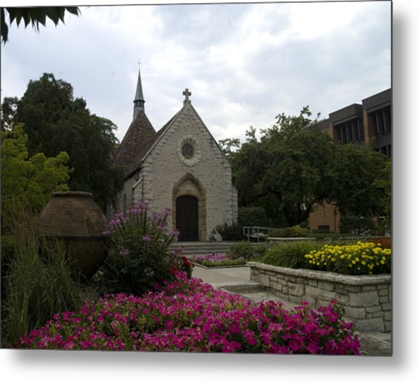 St Joan Of Arc Chapel Metal Print
